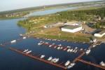 Панорама яхт-клуба